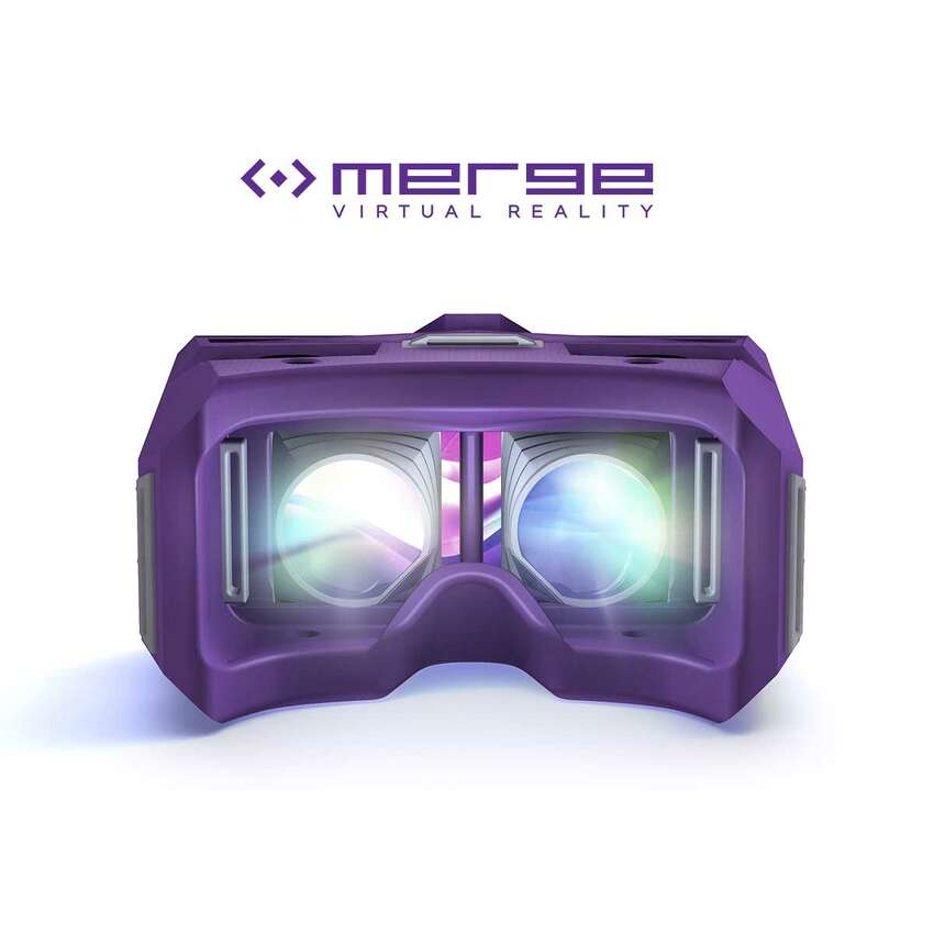 Gaze into the light of the MergeVR Virtual Reality Goggles.
