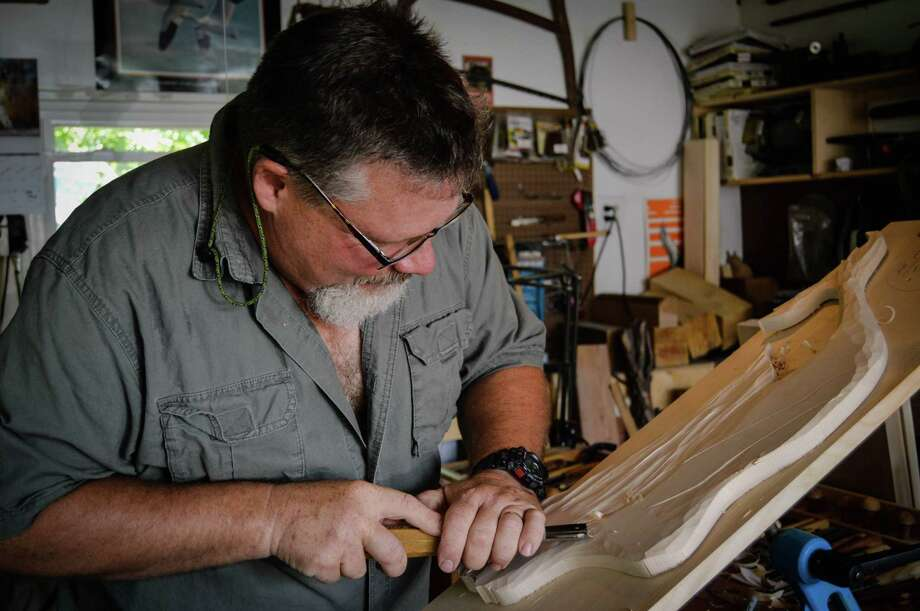 Mark Bair of M.D. Bair Woodcarving Studio of Audubon, N.J., will be among the artists at the Bruce Museum Outdoor Crafs Festival on Saturday, May 16, and Sunday, May 17. Bair will be demonstrating wood-carving techniques at his booth at the Greenwich, Conn., museum. Photo: Picasa, Contributed Photo / Stamford Advocate Contributed photo