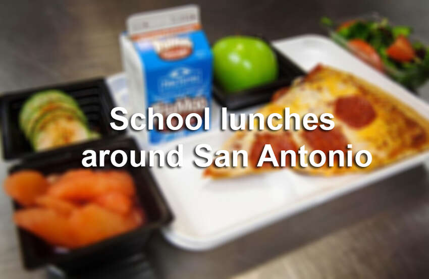 Click ahead to see what San Antonio students are having for lunch.