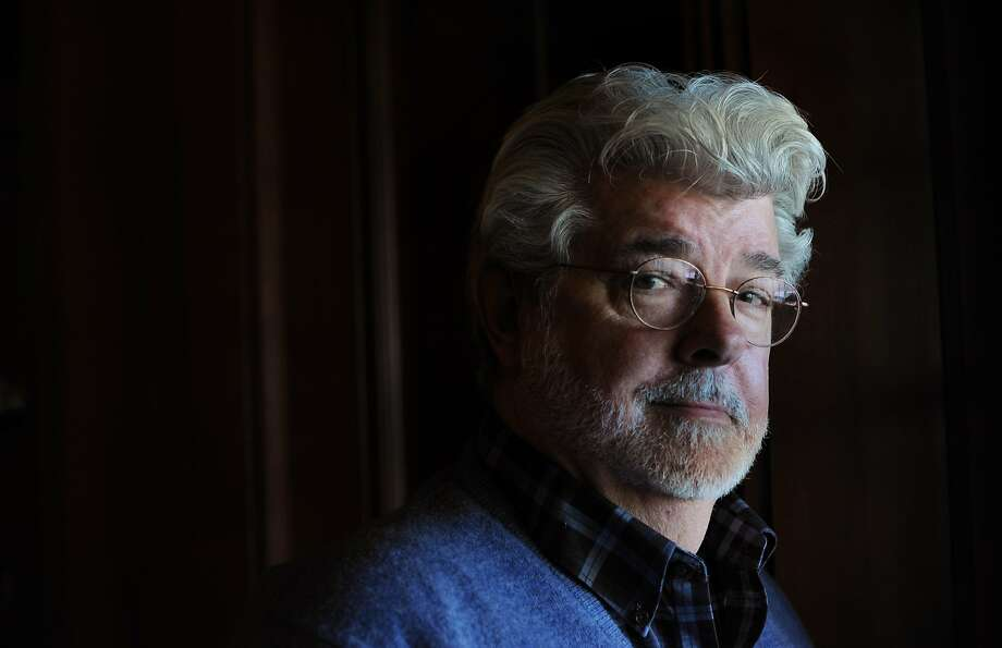 Filmmaker George Lucas tried for three years to build a museum for his collection of digital and populist art before the plan combusted. Photo: Erik Castro, Special To The Chronicle