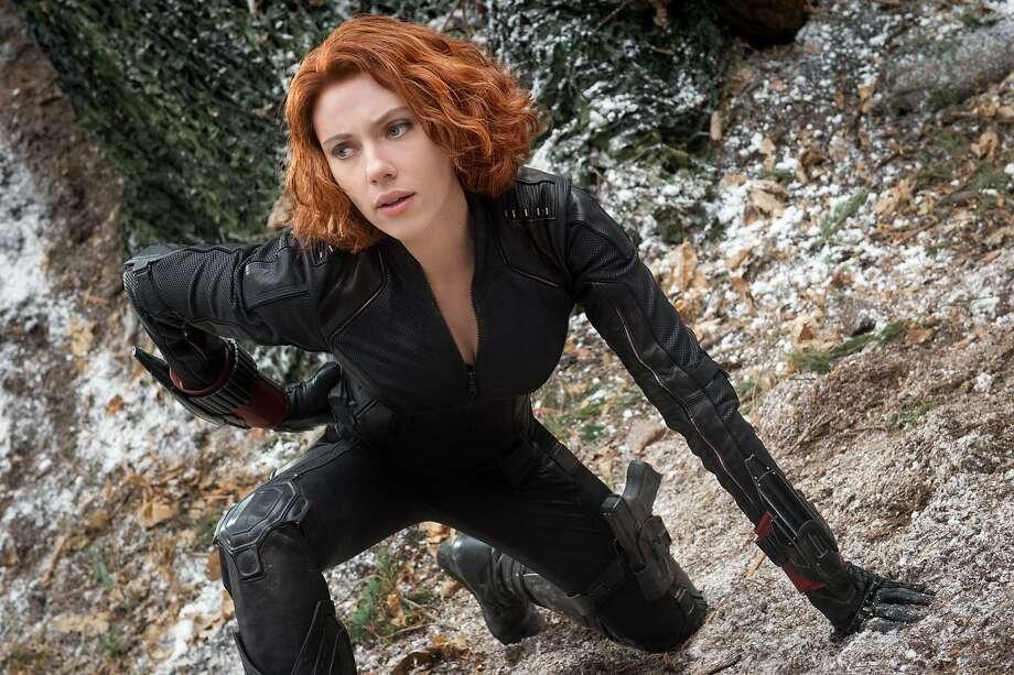 "Scarlett Johansson hosts ""Saturday Night Live."" Photo: Jay Maidment, Associated Press"