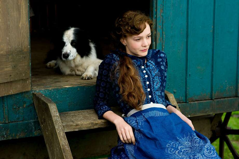 """Bathsheba (Carey Mulligan) is a woman of charm and vivacity in late 19th century England  who inherits a farming estate and attracts three men in """"Far From the Madding Crowd."""" Photo: Alex Bailey, Associated Press"""