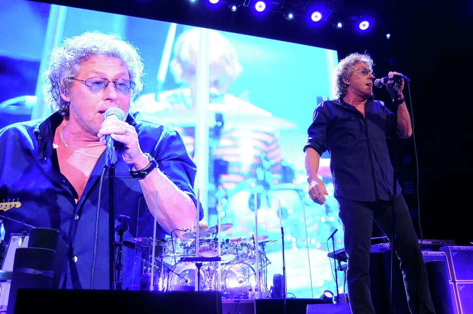 """Roger Daltrey of The Who performs during the band's  """"The Who Hits 50"""" tour at Toyota Center on April 29. Photo: Dave Rossman, For The Chronicle / Freelalnce"""
