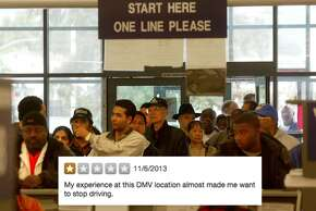 If the Oakland DMV could get more people to stop driving, maybe then at least the lines would be shorter?