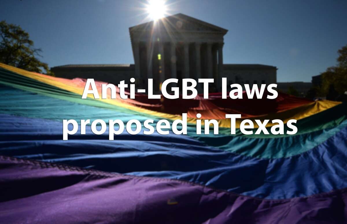 See some of the anti-LGBT legislation proposed during Texas' 84th Legislative Session.