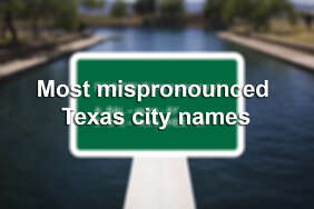 Do you correctly pronounce the names of Texas towns?   Scroll through for the correct pronounciation and meaning of commonly garbled Texas towns.