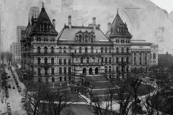 State Capitol June 28, 1932, in Albany, N.Y. Historic buildings 1930s. (Times Union archive)