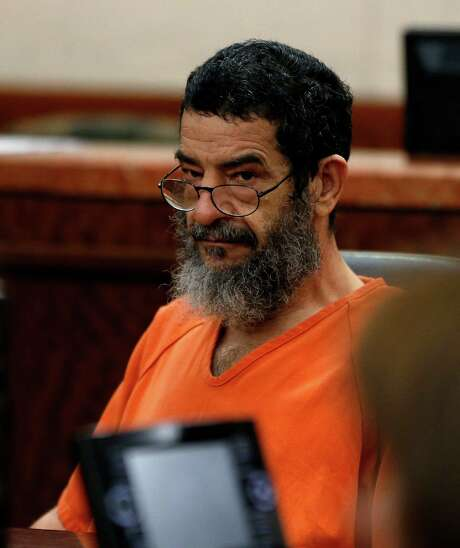 Ali Mahwood-Awad Irsan, 57, who is accused of gunning down an Iranian medical student, Gelareh Bagherzadeh in January 2012, appeared in 184th state District court on Thursday, April 30, 2015, in Houston. Photo: Karen Warren, Houston Chronicle / © 2015 Houston Chronicle
