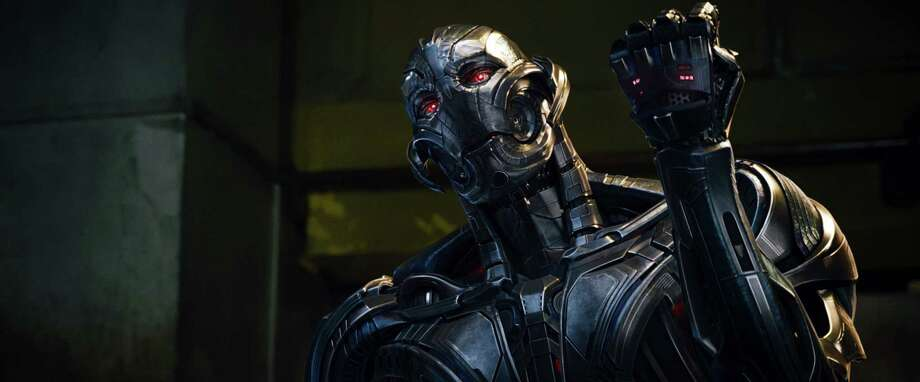 "The villain in the latest ""Avengers"" was an artificial intelligence known as Ultron. He was created by Tony Stark and nearly destroyed the world.  Photo: Handout, HO / TNS"