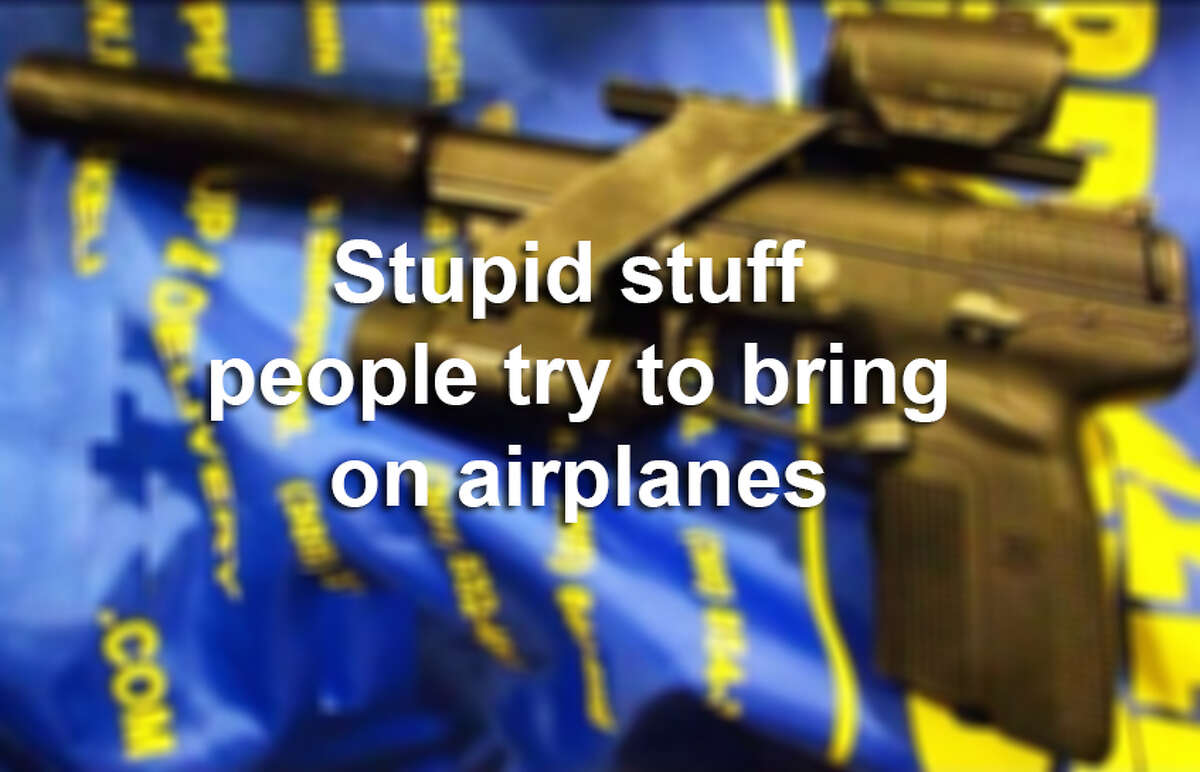Scroll through the gallery to see the kinds of crazy items confiscated by the Transportation Security Administration.