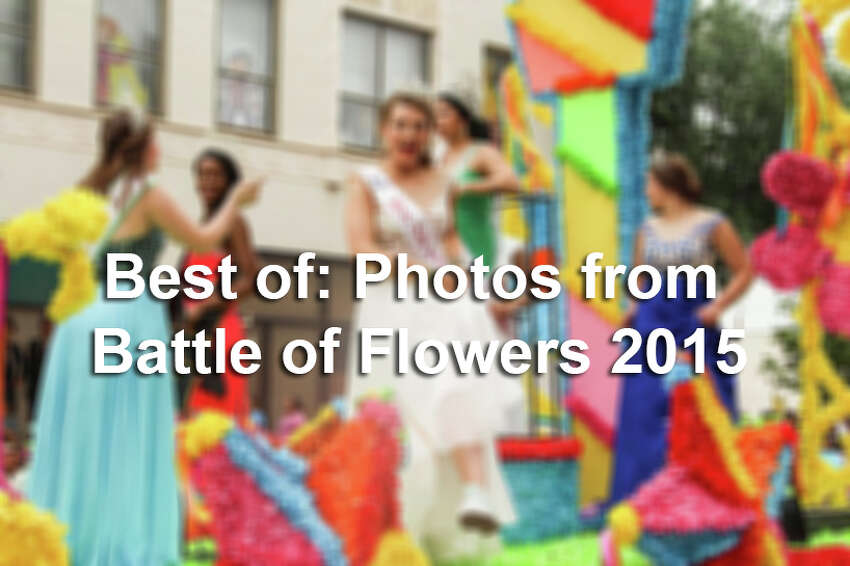 Click through the gallery for some of the best photos from the Battle of Flowers parade.