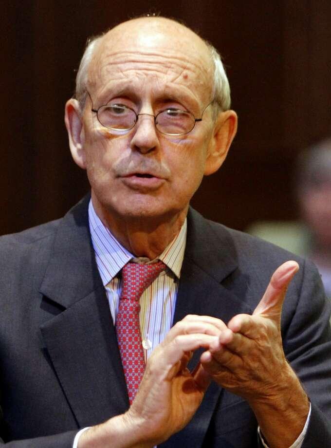 Supreme Court Justice Stephen Breyer. Photo: Steve Helber, Associated Press
