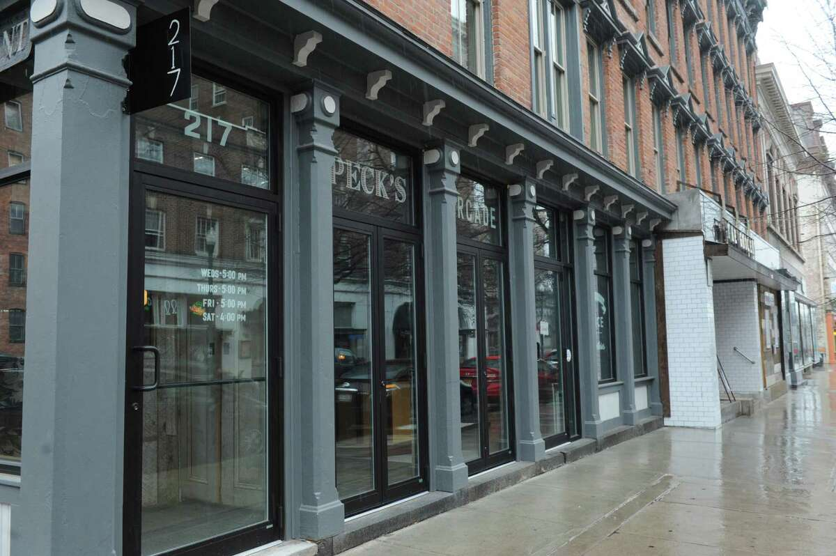 1. Peck's Arcade.217 Broadway, Troy.Read our review.