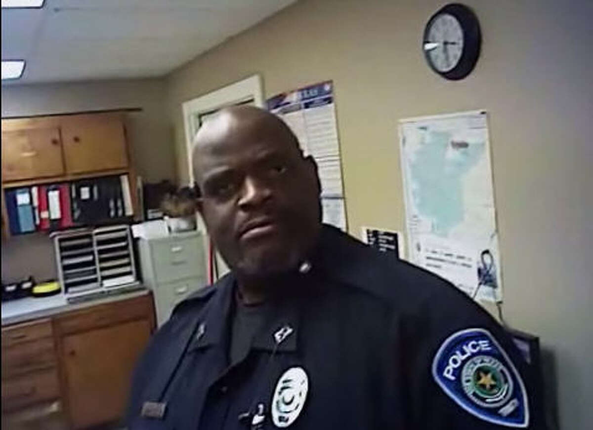 """When Chief Steven Jones of the Trinity Police Department got new body cameras, his first thought was to make a little mischief. He and his crew starred in the CMT reality show """"Fat Cops,"""" and they have a knack for workplace comedy. Source: Trinity Police Department YouTube"""