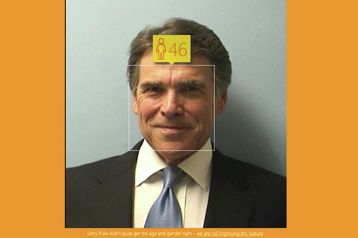 Rick Perry mugshot