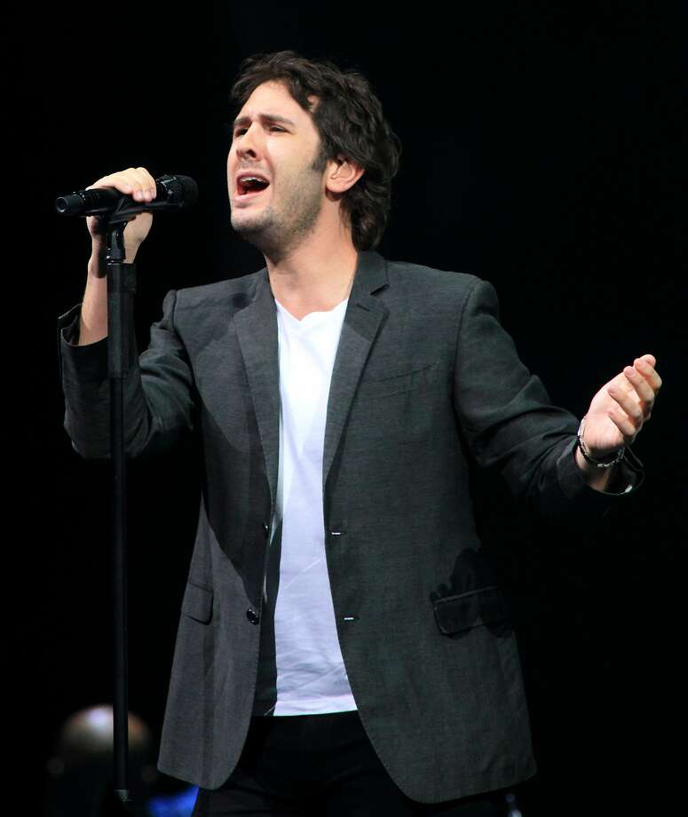 Adult contemporary singer Josh Groban has built another fan base as the go-to weirdo guest star on TV shows and in films. Photo: Owen Sweeney, Associated Press