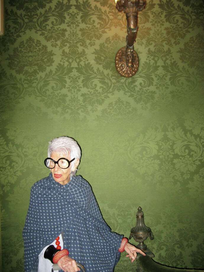 """Iris Apfel in """"Iris,"""" a documentary that focuses on her signature style. Photo: Handout / McClatchy-Tribune News Service / Magnolia Pictures"""