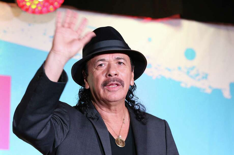 Carlos Santana attends the Billboard Latin Music Conference at Ritz Carlton South Beach on April 29, 2015 in Miami Beach, Florida. Photo: Aaron Davidson, Getty Images/File Photo / 2015 Aaron Davidson