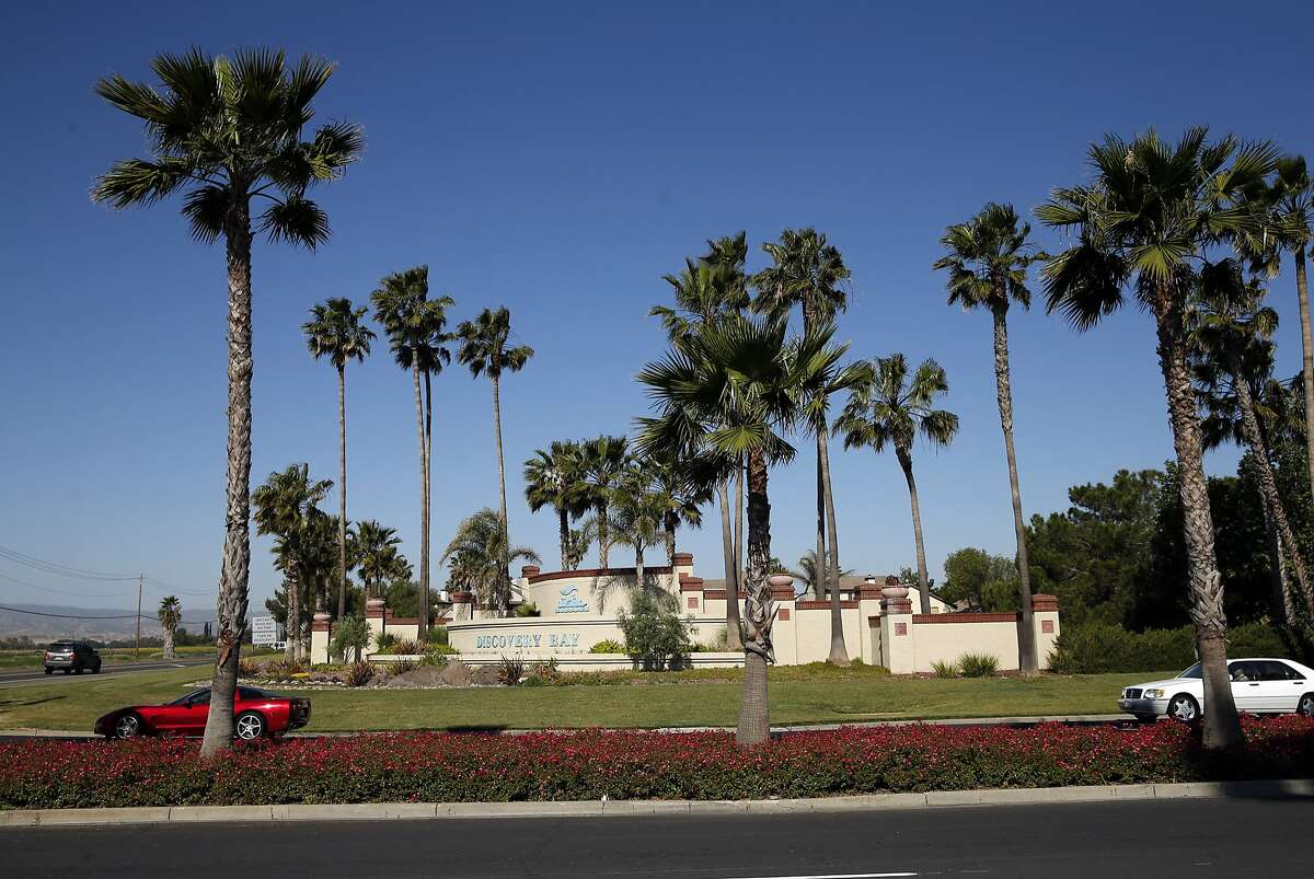 Discovery Bay Boulevard in Discovery Bay, Calif., on Thursday, April 30, 2015.