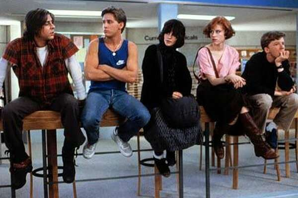 """""""The Breakfast Club"""" spawned many a crush (hi, Emilio and Molly!), but Judd Nelson was the bad boy."""