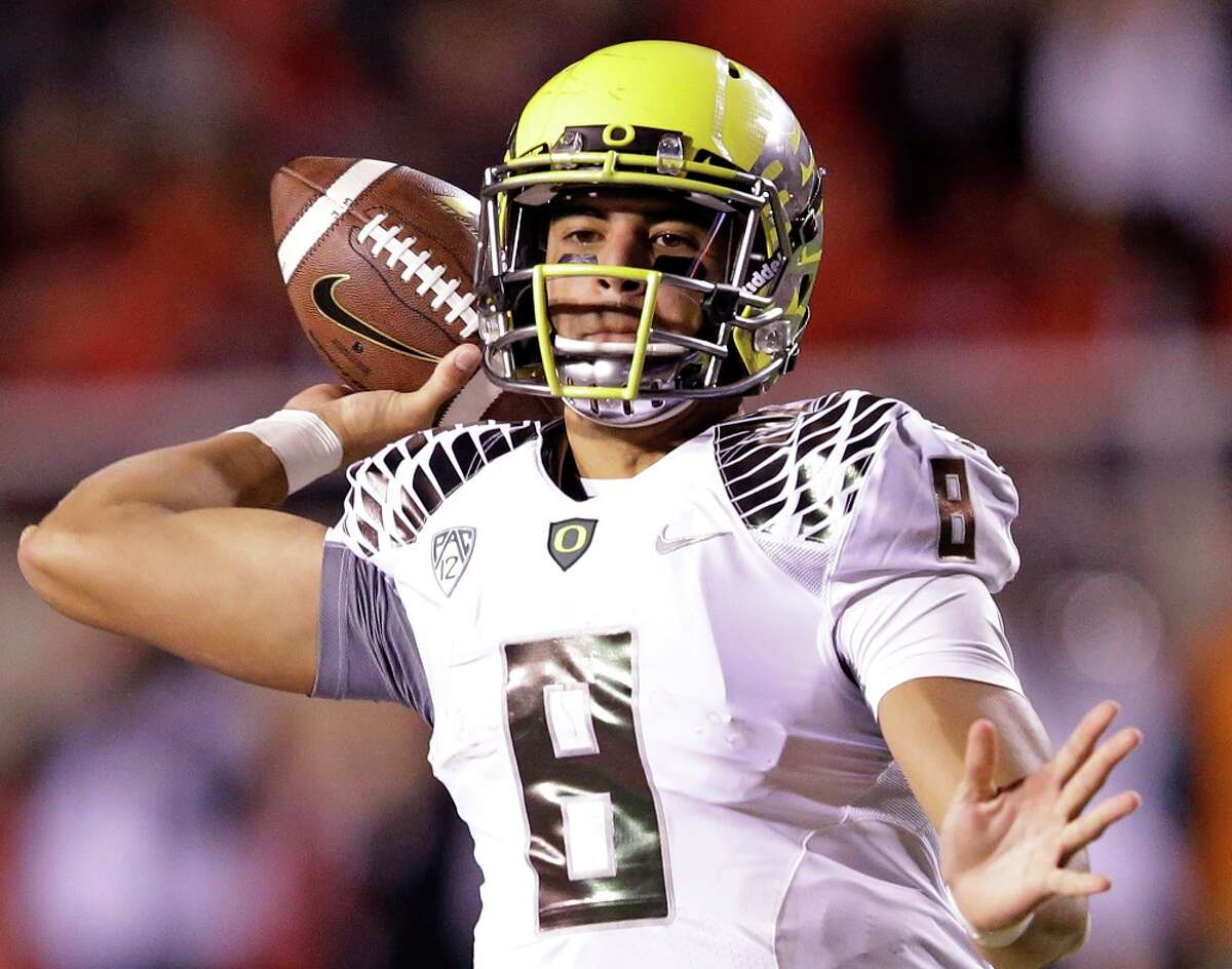 2. Marcus Mariota, quarterback - Tennessee Titans Age: 21 | College: Oregon | Size: 6-foot-4, 222 pounds
