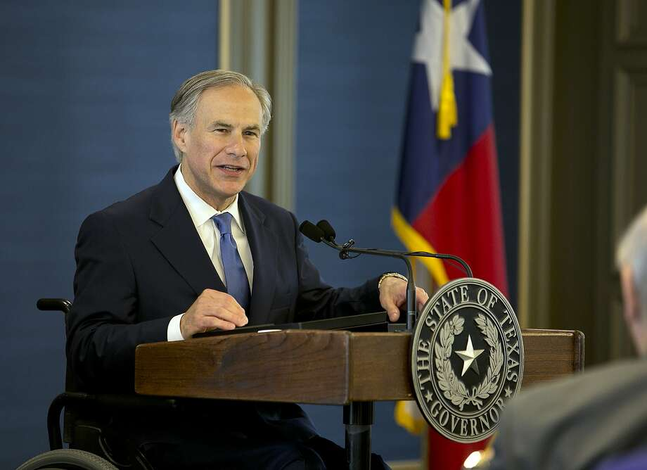 Gov. Greg Abbott spoke at the Texas Public Policy Foundation building grand opening in Austin in April. He vetoed Senate Bill 359 in June. Photo: Deborah Cannon, Associated Press