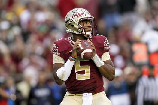 1. Tampa Bay Buccaneers: Jameis Winston | Quarterback | Florida State It would be a huge surprise if the Bucs didn't pick up their new franchise quarterback here, regardless of questions about Winston's off-the-field issues. Photo: Don Juan Moore, Getty Images