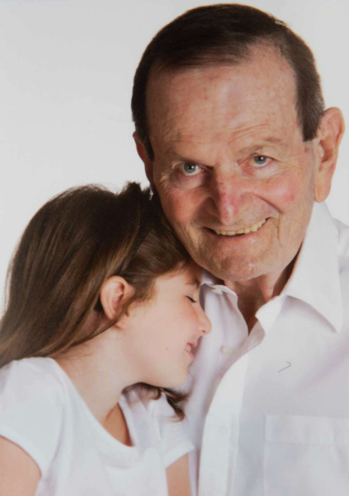 Morton J. Adels had a close relationship with his granddaughter Zoey.