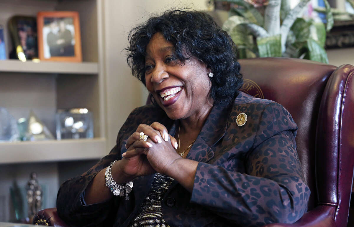 Ruth Jones McLendon talks in her office at the State Capitol on July 25, 2013.