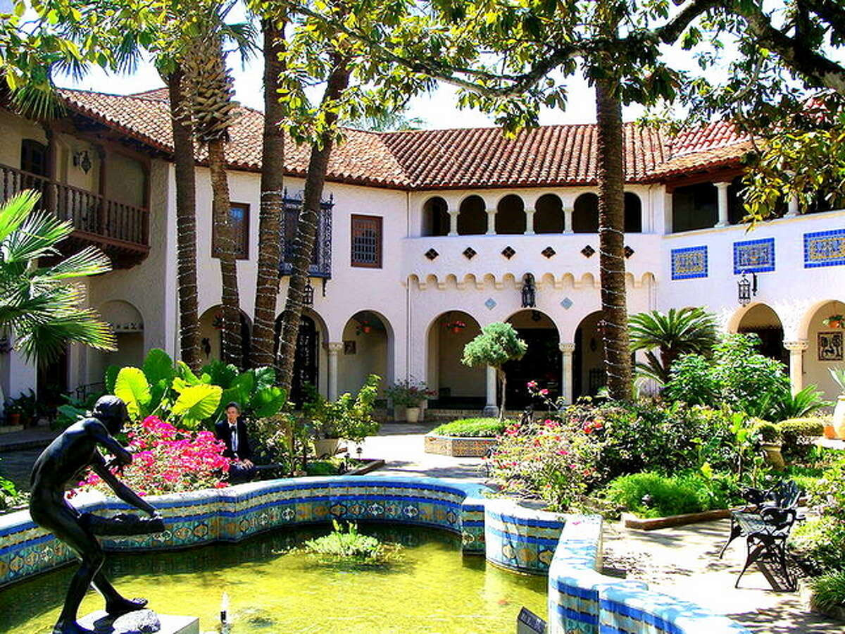 The patio of the McNay has been the scene of some wonderful parties over the years.