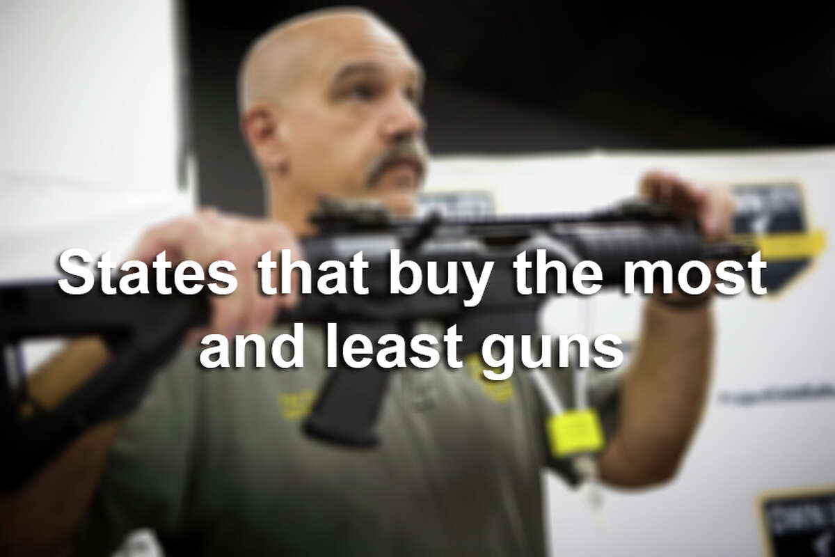 See which states buy the most and least guns. Are you surprised?