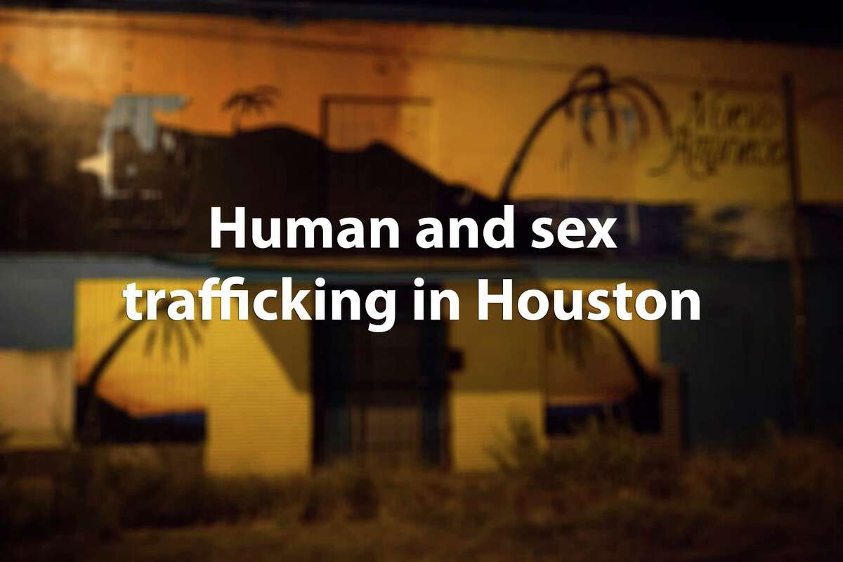 Continue through the photos to learn more about trafficking in Houston.