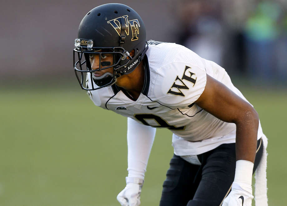 Wake Forest cornerback Kevin Johnson, selected No. 16 overall by the Texans on Thursday, had three interceptions and 15 passes defended last season to earn a spot on the All-ACC second team. Photo: Don Juan Moore / Getty / 2014 Don Juan Moore
