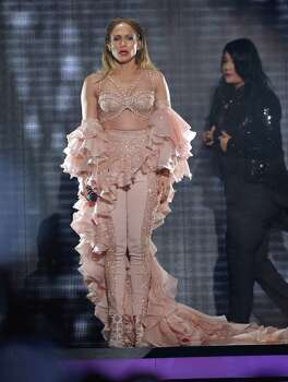 MIAMI, FL - APRIL 30:  Jennifer Lopez performs a musical tribute to Selena onstage at the 2015 Billboard Latin Music Awards presented bu State Farm on Telemundo at Bank United Center on April 30, 2015 in Miami, Florida. Photo: Rodrigo Varela, Getty Images / 2015 Getty Images