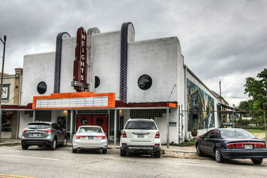 One of the coolest landmarks on 19th Street in the Heights, the historic Heights Theater, is currently for up for sale again. For $1.9 million the property, located in the heart of the 19th Street shopping district, can be yours. Photo: Boulevard Realty