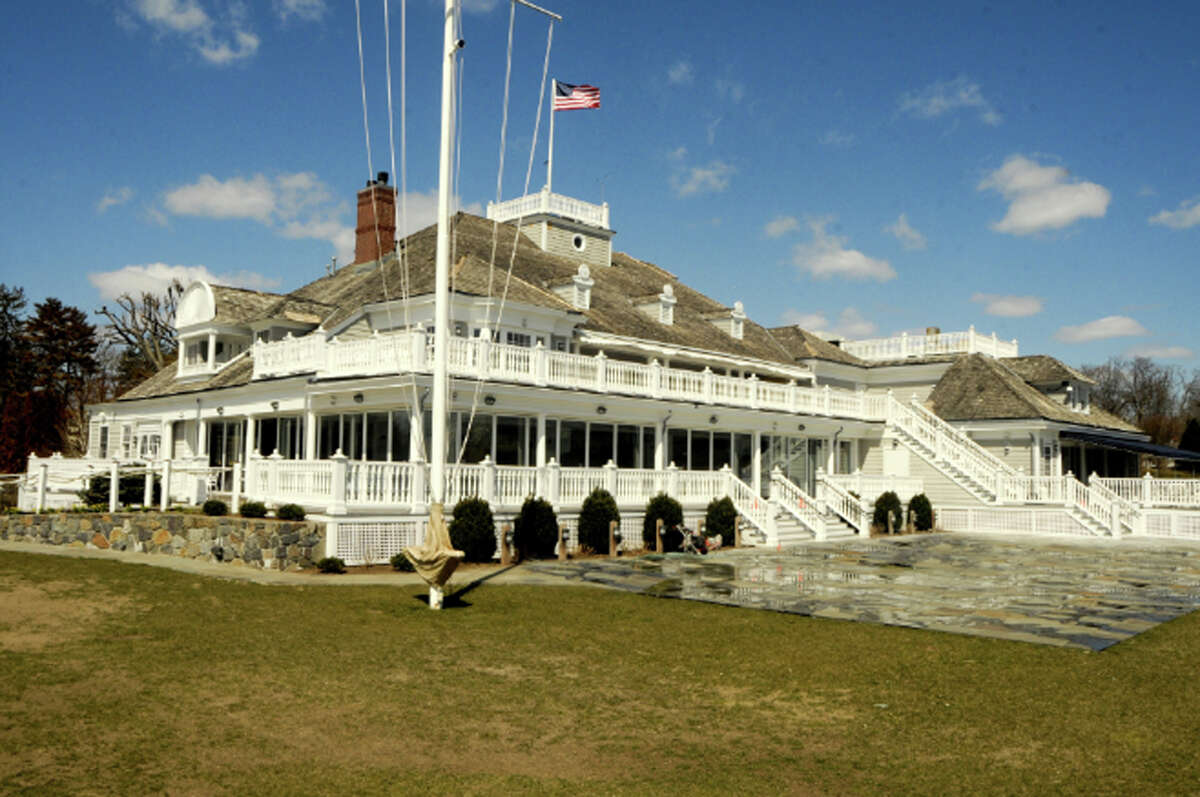 The Belle Haven Club, built in 1892, as seen today.