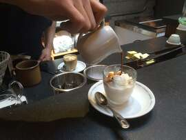 Affogato in action.