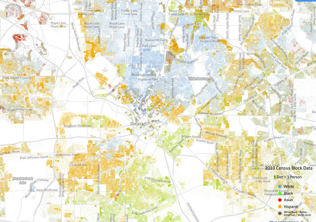 NIU Urban Communities Is Segregation Only An American Thing - Map of segregation in us