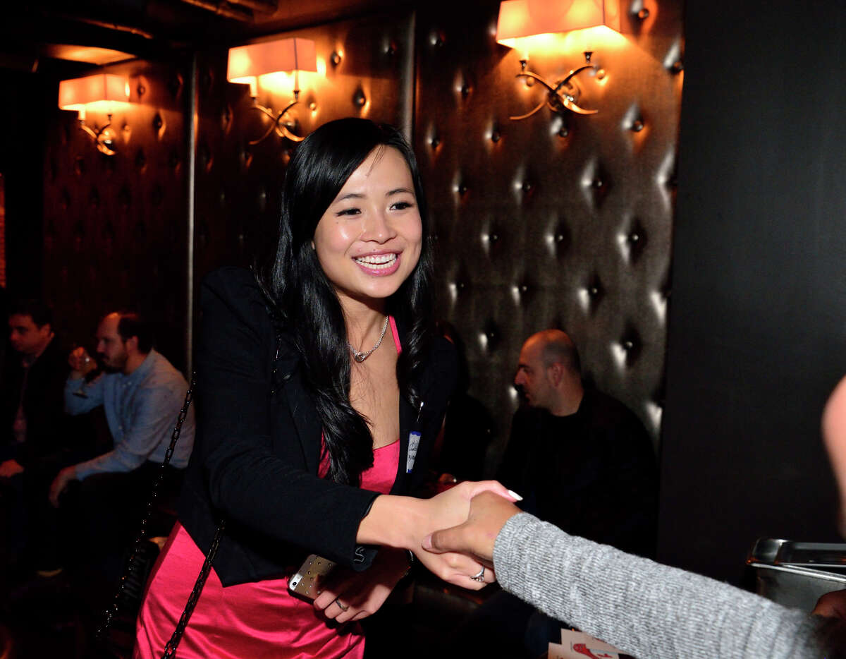 San Francisco's Louisa Liu, of matchmaking service Three Day Rule, often sources potential matches at events.