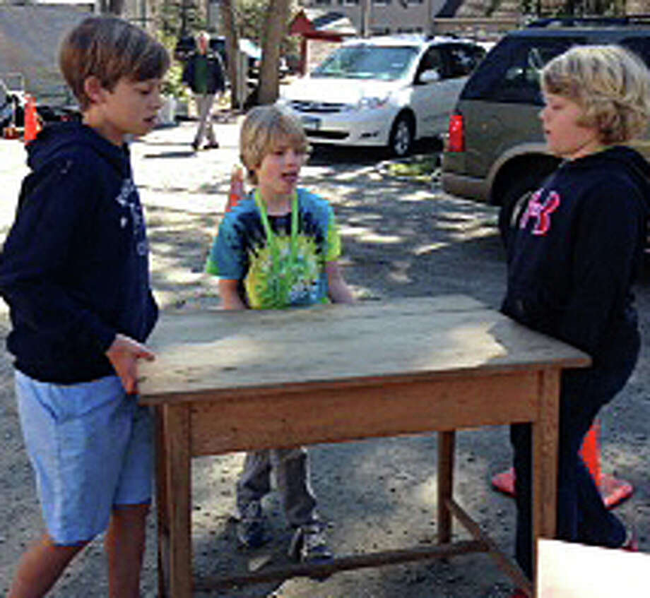 "Darien Boys Scouts will sponsor their 43rd annual ""Giant Tag Sale"" on Sunday. Photo: Contributed Photo / Darien News"