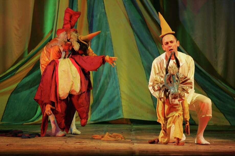 """Teatro del Drago, a company based in Ravenna, Italy, will present a run of """"Pinocchio"""" Nov. 21-22 as part of Attic Rep's 10th season. Photo: File Photo"""