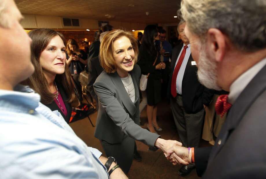 Former Hewlett-Packard CEO Carly Fiorina is expected to run for president. Photo: Jim Cole, Associated Press