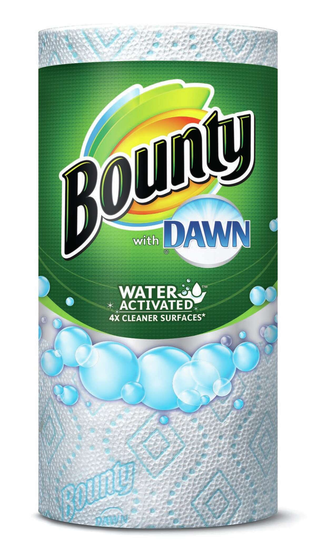 Bounty with Dawn is the new papertowel that features Bounty papertowels infused with dawn dish detergent. (Bounty)
