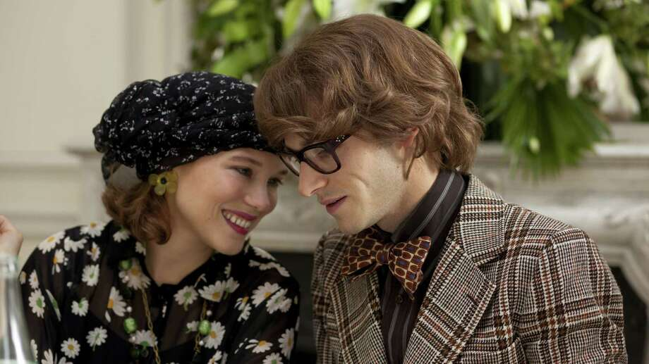 "Lea Seydoux as Loulou De Falaise (left) and Gaspard Ulliel as Yves Saint Laurent in the film ""Saint Laurent."" Photo: Carole Bethuel / Sony Pictures Classic / ONLINE_YES"