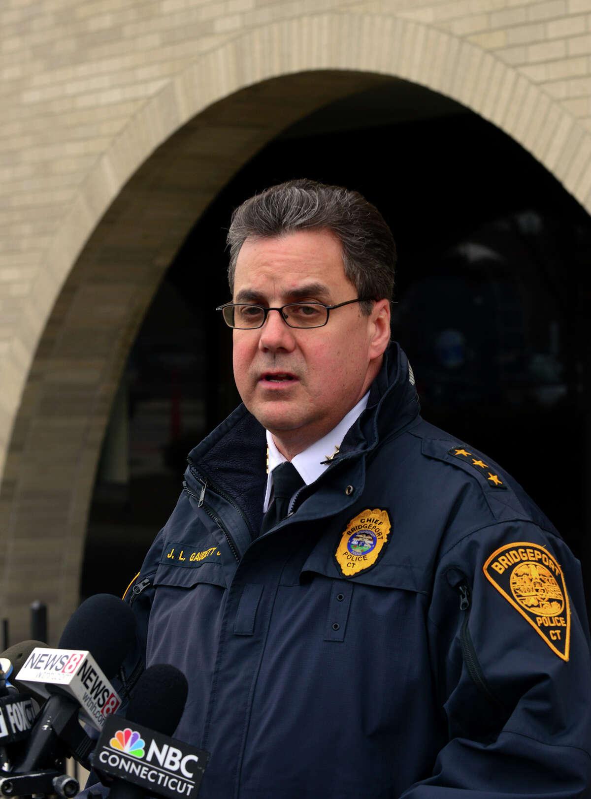 Bridgeport Chief of Police Joseph L. Gaudett, Jr.