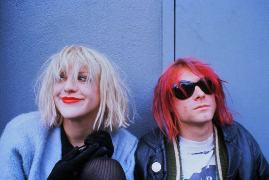 Courtney Love and Kurt Cobain in 1992. The new documentary on the Nirvana lead singer is on HBO. Photo: Dora Handel, McClatchy-Tribune News Service