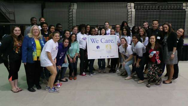 We Care project at UAlbany. (Karl Lanta)
