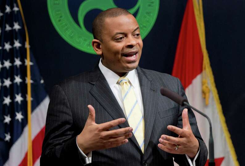 Transportation Secretary Anthony Foxx announces new rules requiring stronger, safer rail tank cars f