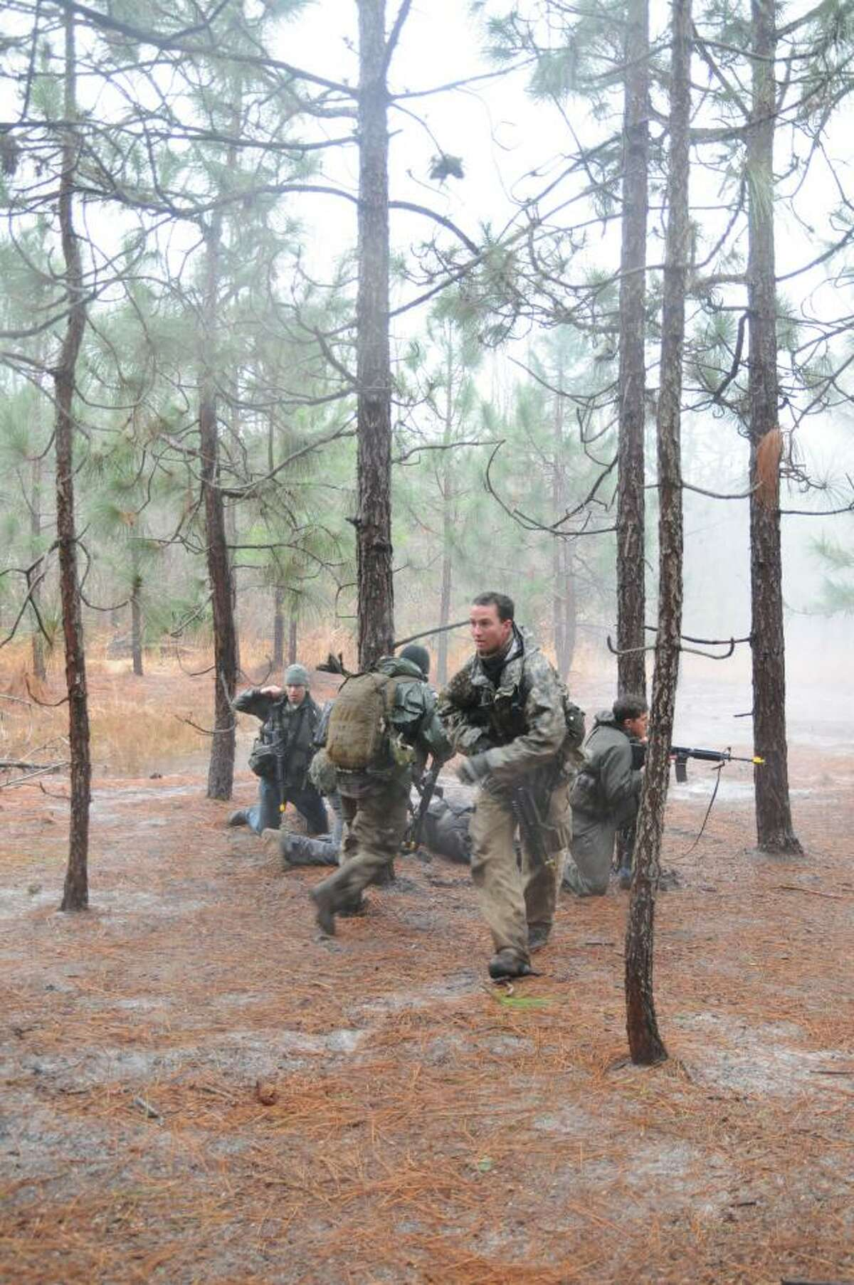 Special Forces candidates in North Carolina during the Robin Sage exercises that culminate their training.