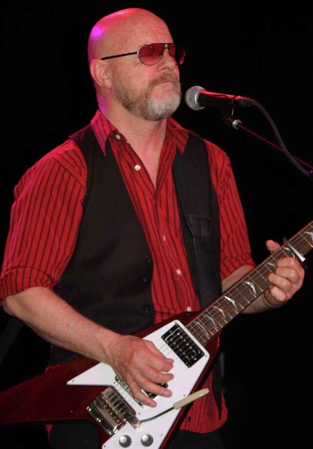 Wishbone Ash guitarist Andy Powell at the Aztec Theatre, May 1, 2015 Photo: Robert Johnson / Express-News / Courtesy Photo